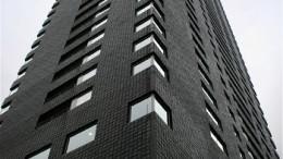 lejligheder sort bygning